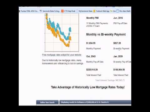 Financial Algebra - Monthly loan payments 10-8-13
