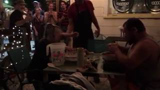 corndog eating contest