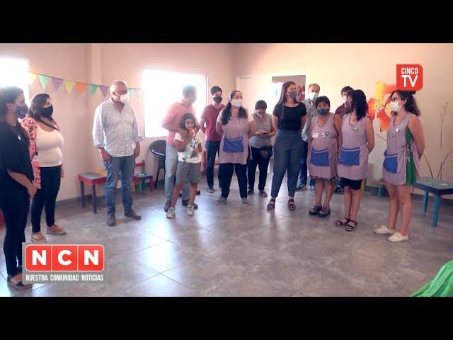 """CINCO TV - Julio Zamora reconoció el trabajo del Espacio """"Las Flores de Cina Cina"""" en pandemia"""
