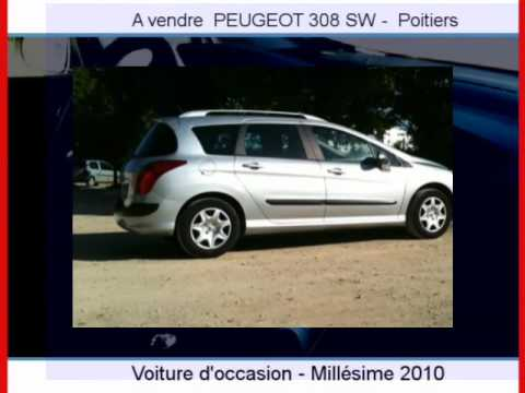 achat vente une peugeot 308 sw poitiers youtube. Black Bedroom Furniture Sets. Home Design Ideas
