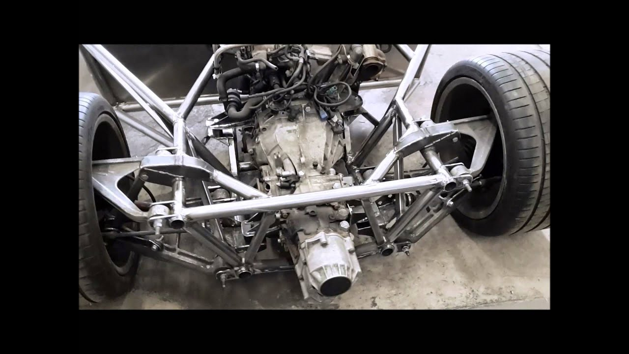 Lamorghini Diablo Frame with Corvette C5 suspension, Audi AAN engine and  01E gearbox