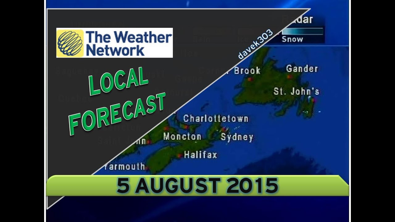 the weather network local forecast - 5 august 2015