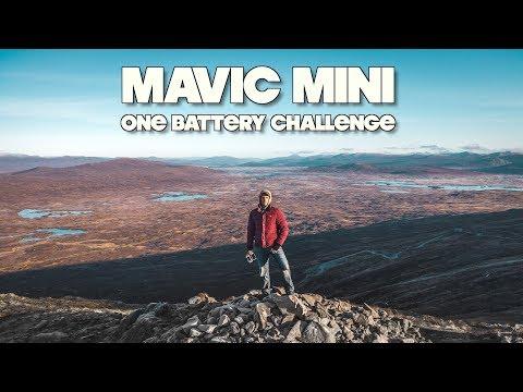 MAVIC MINI ONE BATTERY CHALLENGE!
