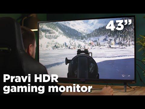 Monitor koji ima sve - Gigabyte Aorus FV43U recenzija