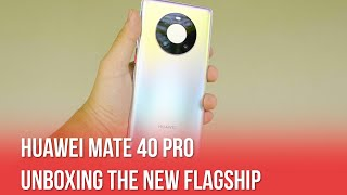 Here Is Your First Look At Huawei Mate 40 Pro!