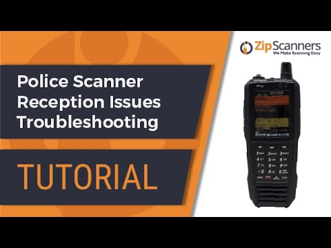 Police Scanner Reception Issues   How To Troubleshoot