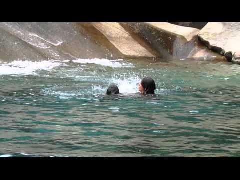 Los ahogados en Cochamó - toboganes naturales 2015