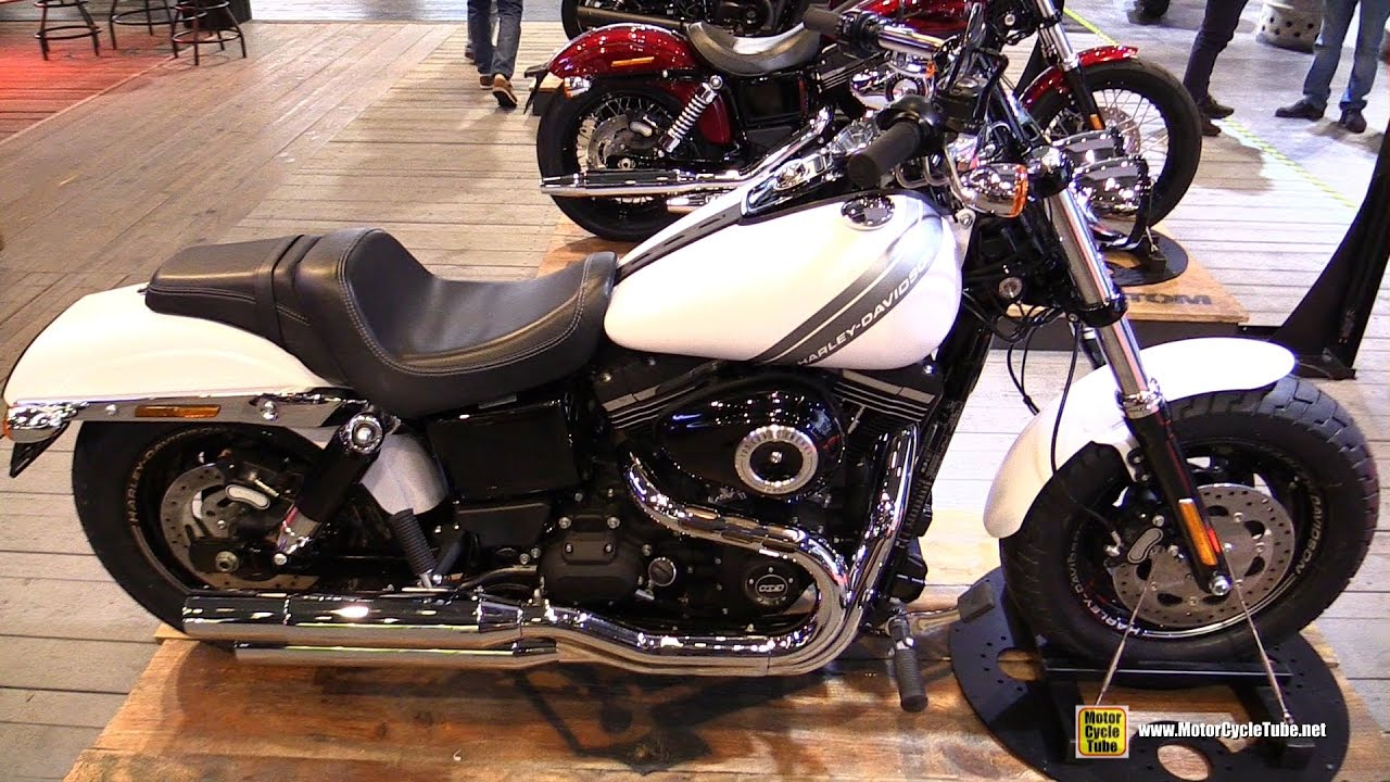 2017 harley davidson fat bob dark custom walkaround 2016 eicma milan youtube. Black Bedroom Furniture Sets. Home Design Ideas