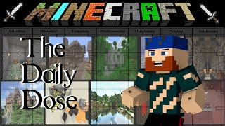 The Daily Dose: Crash Landing Day 6 | Forward Observation Base | Modded Minecraft Quest Series