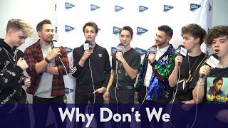 Backstage with Why Don't We at Jingle Ball