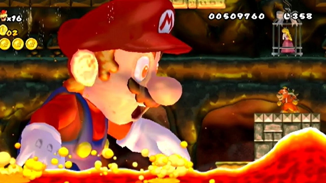 New Super Bowser Wii World 8 Final Castle Youtube