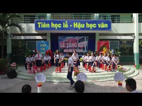 Lễ tổng kết năm học 2015 - 2016 tại trường Trung học cơ sở An Lạc Quận Bình Tân
