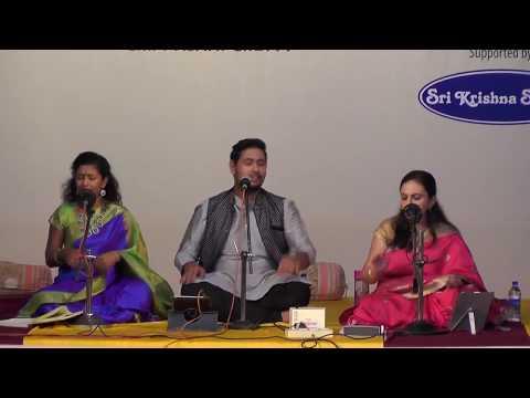 R.P.Shravan | V Deepika | Madhu Iyer | Indian Music Medley l Bharat Sangeet Utsav 2017
