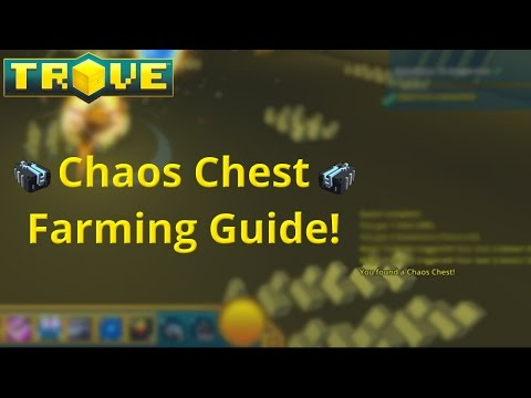Chaos Chest Farming Guide! How to Farm Untradable Chaos Chest In Trove!