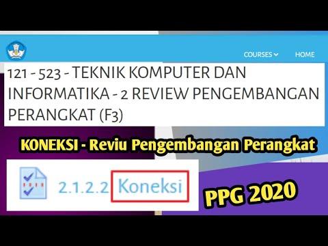 KONEKSI - Reviu Pengembangan Perangkat   PPG 2020