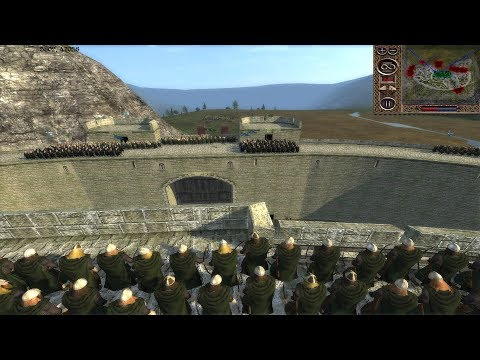 CHAOS AT HELMS DEEP - Siege of Hornburg - Third Age Reforged (3v4)