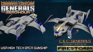Operation Firestorm Beta 2 - USA High Tech [C&C Generals Zero Hour]