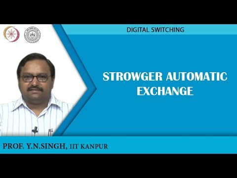 Strowger Automatic Exchange