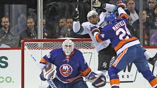 Analysis: Robin Lehner Delivers, as Isles Cruise | New York Islanders | MSG Networks