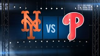 8/26/15: Mets offense slugs past Phillies for 9-4 win