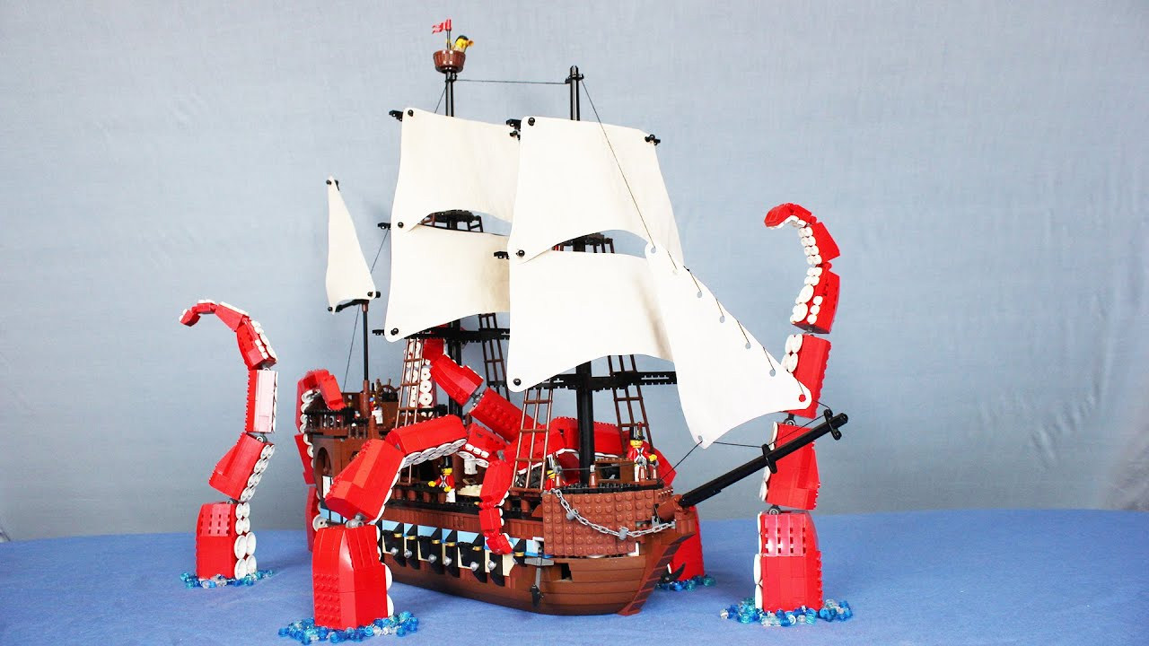 Lego Youtube The Kraken Youtube The Kraken Youtube Kraken Lego The Lego j4ARq5L3