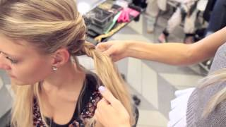 Coachella Inspired hair and braid tutorial by Blohaute