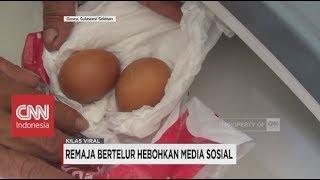 Remaja Bertelur Hebohkan Media Sosial