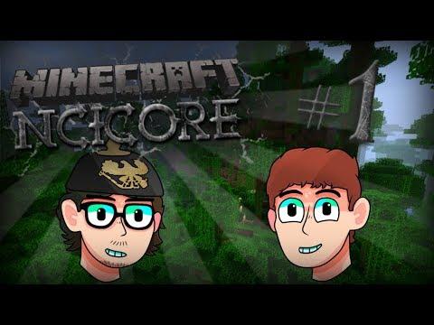 Minecraft NCICORE #1 Episode 1 (Ft. Mongolian & J_T Money!)