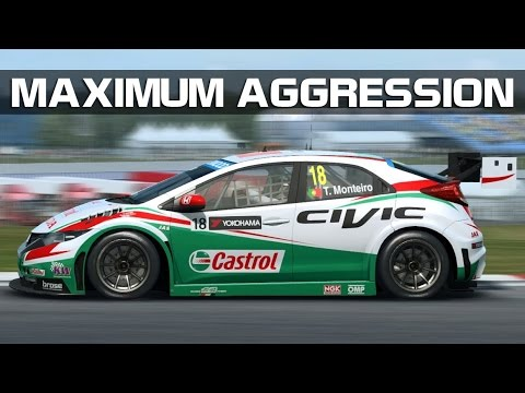 RaceRoom Racing Experience - Maximum Aggression (WTCC 2015 @ Brands Hatch)