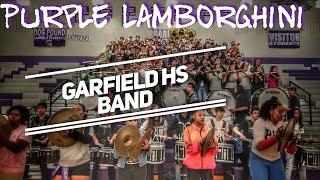 Purple Lamborghini | Garfield High School Band