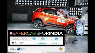 Tata Nexon scores 4 star With 2 airbags