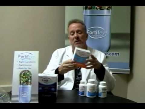 Dr Michael Lange on Fortifeye Vitamins - 04 Jan 2011