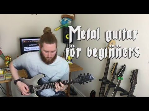 My Top 5 Drop C Metal Riffs Guitar Lessons for Beginners Part 1