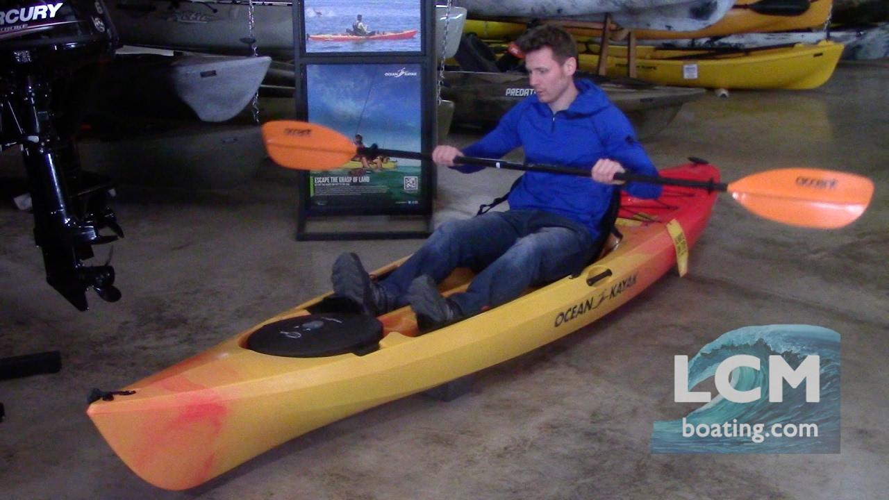 Ocean Kayak Tetra 10 & 12 - Demo of Features & Overview