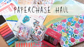 Paperchase Haul 5/8/14 | MyGreenCow