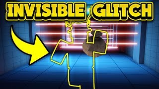 INSANE NEW INVISIBILITY GLITCH! (ROBLOX Jailbreak)