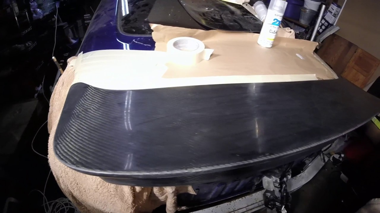 Wet Sanding Clear Coat >> Wet Sanding And Clear Coating Carbon Fiber