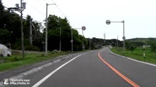 【等速】むかわ町( 道の駅むかわ四季の館)~厚真市街まで 2012/6/30