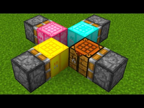 how to make new crafting table