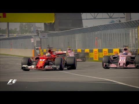 Vettel\'s Brilliant Recovery Drive in Montreal | 2017 Canadian Grand Prix