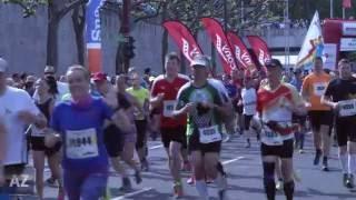 Sonniges Wetter beim Gutenberg-Marathon Mainz