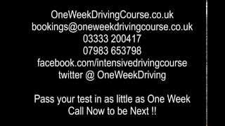 Intensive Driving Courses Oxford  | Driving Lessons Oxford - Ben Godfrey