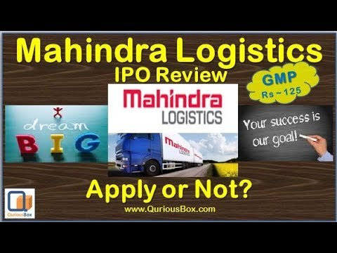 Mahindra Logistics IPO Review | Mahindra Logistics IPO | Mahindra IPO| Mahindra Logistic IPO Detail