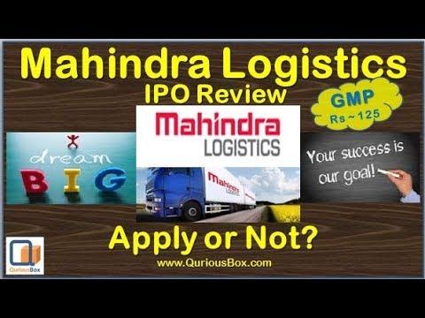 Mahindra logistics ipo crisil rating