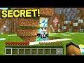 My Best Friend's *SECRET* Minecraft Pocket Edition World is HACKED!