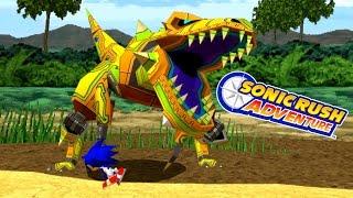 Sonic Rush Adventure - Sonic VS Ghost Rex Ultra High Quality!