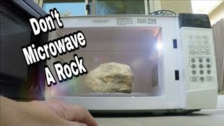 What Happens When you Microwave a Rock