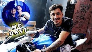 CONHECI O MC DAVI / E MOTO NOVA DO CANAL? / DAILY VLOG