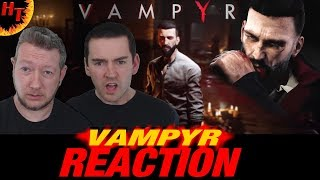 Vampyr Story Trailer Reaction ! A new game coming soon for pc xbox one & ps4 ( 2018 ) HD