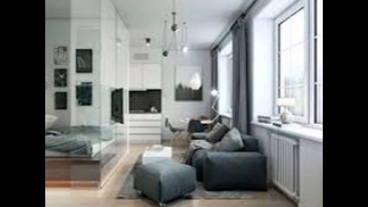 21 sqm micro apartment interior design idea with mezzanine for Great apartment interior ideas